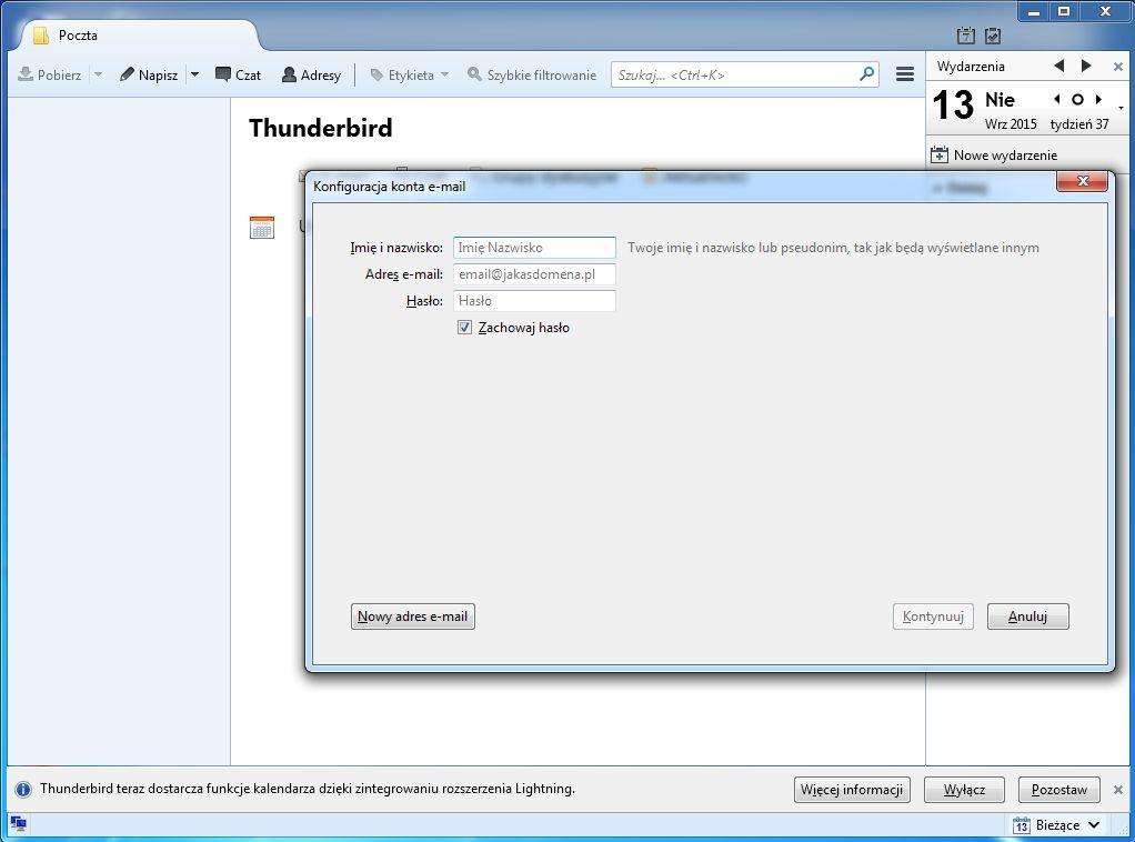 29adf55457193c Konfiguracja klienta pocztowego Mozilla Thunderbird | Wicket