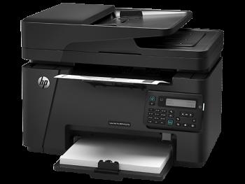 Resetowanie drukarki HP LaserJet Pro M127fn (CZ181A)