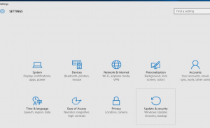Ustawienia Windows10