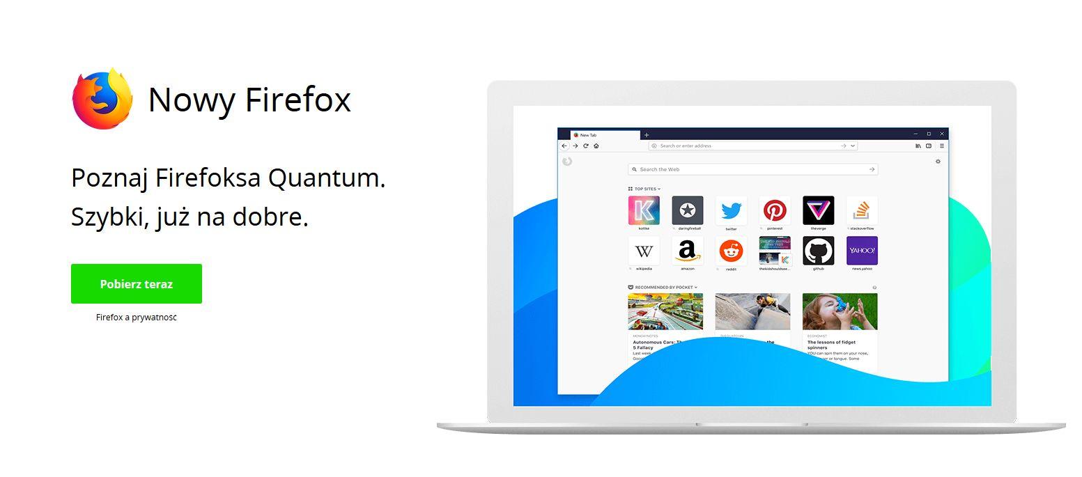 Instalacja dodatków w przeglądarce internetowej Firefox