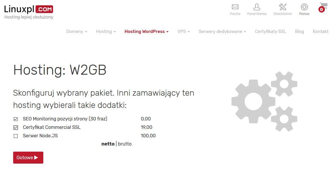 Cz.2 Zakładamy konto hostingowe.