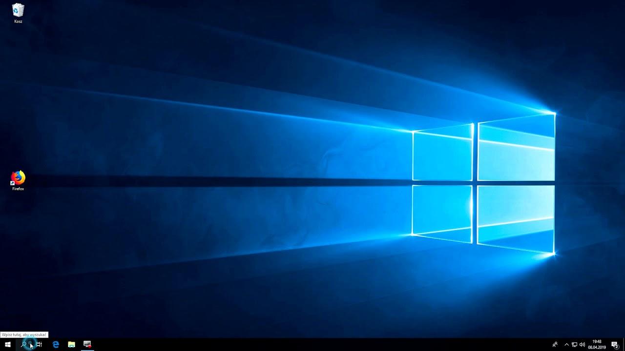Zmiana motywu w Windows 10 z jasnego na ciemny