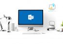 Zmiana motywy na ciemny w programie Microsoft Outlook 2016